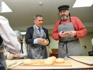 выпекание хлеба минниханов