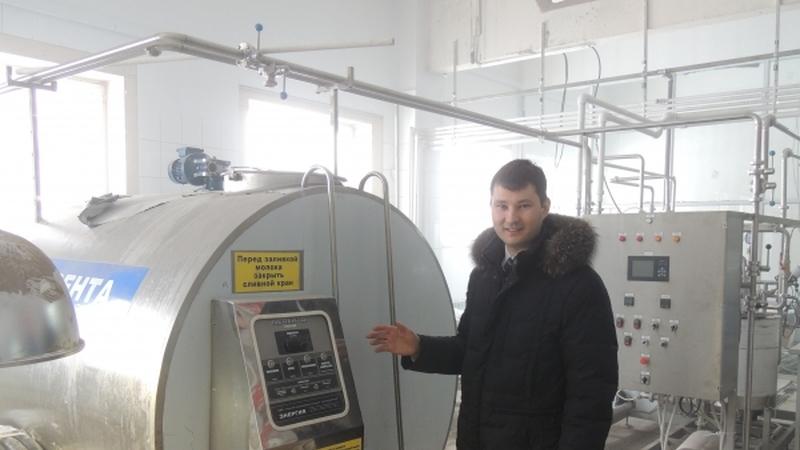 ВПестречинском районе Татарстана запустят цех попереработке молока