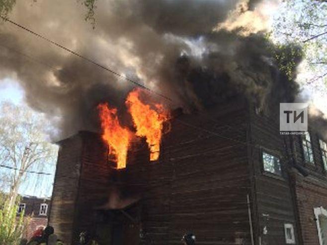 пожар полукамушки