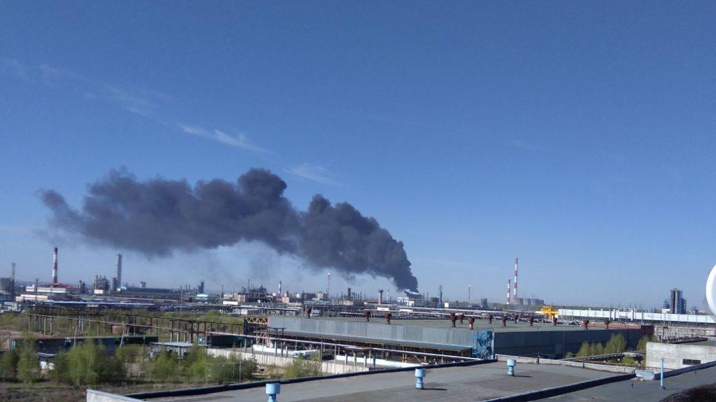 пожар Казань