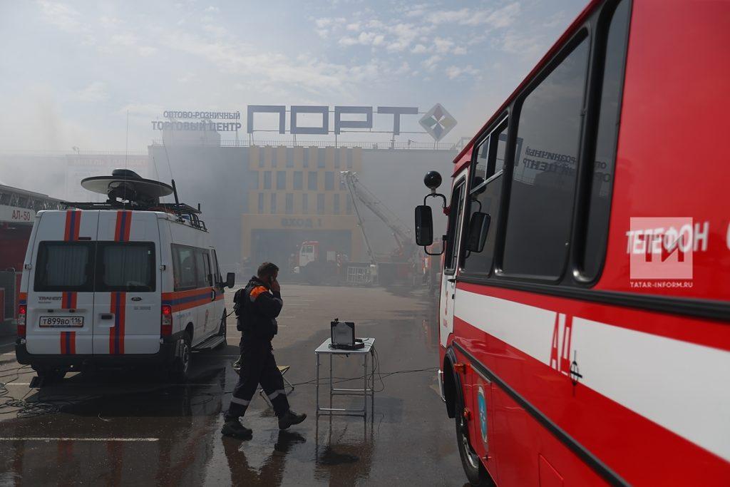 пожар порт