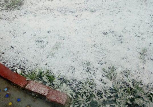 снег 1 июня