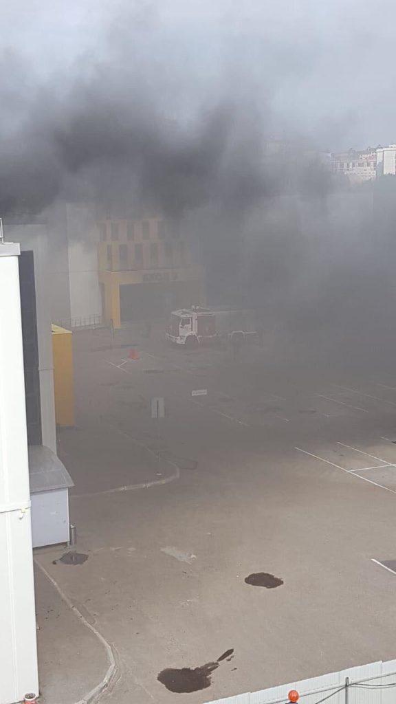порт пожар