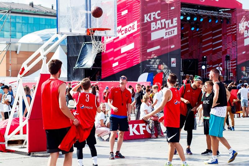 KFC BATTLE_Стритбол_2