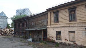 деревянный дом здание снос