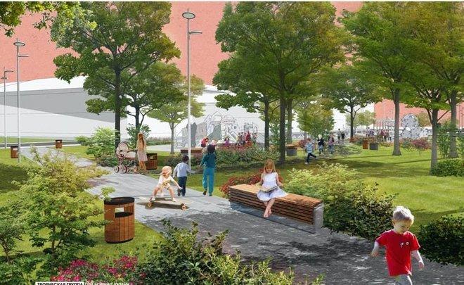 эскиз новый парк